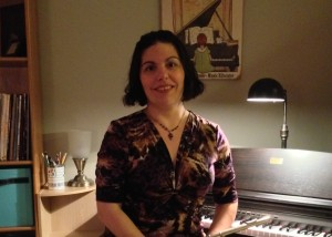 Jennifer Clymer in Studio